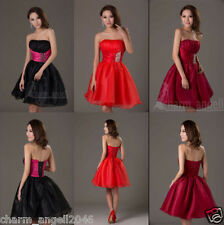 New Sweet Sixteen Short Prom Dress Cocktail Ball Evening Dress Homecoming Gown