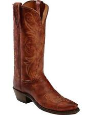 Lucchese N9633 54 Womens Cognac Arizona Calf Leather Western Cowboy Boots