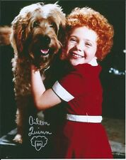 Aileen Quinn Annie autographed 8x10 photo with COA by CHA
