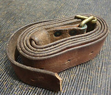 RARE leather sling M1894 m94-14 Swedish Mauser Rifle Carbine CAVALRY swede NR