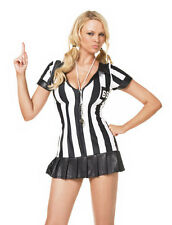 LEG AVENUE Referee Game Official Sexy Sports Fancy Dress Costume 83067