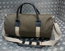 Military Style ARMY Canvas Holdall With Shoulder Strap Gym / Tool Bag - NEW