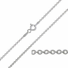 "925 Sterling Silver TRACE Chain Necklace 16 18 20 22 24 26 28 30"" Inch 1.5mm NEW"