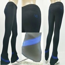 VC Ice Figure Skating Dress Practice Pants Trousers VCSP20 Blue Skating Pants