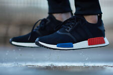 Adidas Nomad Runer Primeknit NMD Core Black Lush Red S79168