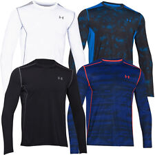 Under Armour HG Raid LongSleeve Training T-Shirt Mens Gym Sports Tee-Fitted