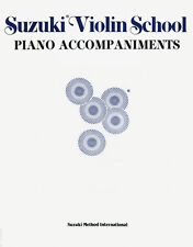 Suzuki Violin School - Piano Accompaniments