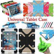 """Flexible Shockproof Soft Silicone Universal Cover Case For 7""""~12"""" Tablet PC MID"""