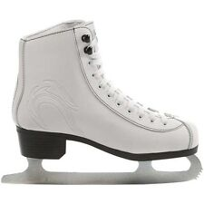 Ice Skates. Girls Ice Skates. Lake Placid Firecat White Figure Ice Skates. UK2-8