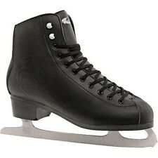 Ice Skates. Girls Ice Skates. Lake Placid Firecat Black Figure Ice Skates UK4-7