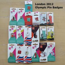 "London 2012 Olympic Pin Badges ""Honav"" Official Pins on Backing Cards"