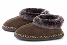 Stylish Ladies Real Sheepskin Slippers , 100% Leather ! Home Shoes, Boots, Warm