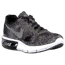 Nike Air Max Sequent - Women's Running Shoes (BK/Wolf GY/WT/Metallic Hematite W