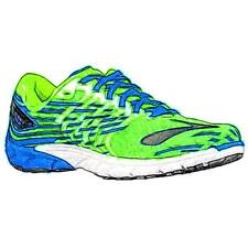 Brooks Purecadence 5 - Men's Running Shoes (GN Gecko/Electric BL/BK Width:Mediu