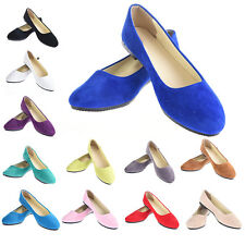 1 Pair Women Ladies Casual Flat Boat Shoes Ballet Slip On Flats Loafers Shoes