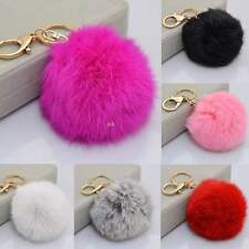 New Keychain with Cute Ball Shape Accessory for Car Key Ring Bag