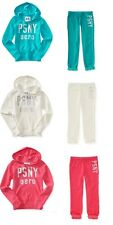 NWT AEROPOSTALE PS GIRLS PSNY POPOVER HOODIE FLEECE PANT OUTFIT 4 5 6 7 8 10 12