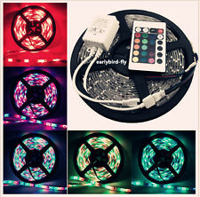 12V LED Strip 5M 10M 15M 3528 5050 RGB 300LED SMD Light LED Strip+ 24/44Key IR