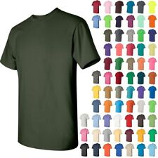 Gildan Mens Heavy Cotton Short Sleeve T-Shirt Cotton S-L  5000