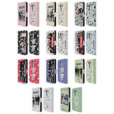 OFFICIAL ONE DIRECTION GROUP ICON LEATHER BOOK WALLET CASE COVER FOR LG PHONES 1