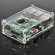 Transparent Clear Acrylic Case Box Shell Enclosure For Raspberry Pi B+/2/3 Model