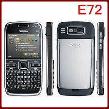 QWERTY Keypad Nokia E Series E72(Unlocked)Wifi 3G Camera 5MP Mp3 Player FM Free