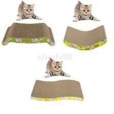 Cat Pet Rabbit Catnip Sticker Scratcher Scratch Mat Bed Board Seize Toy 3 Types