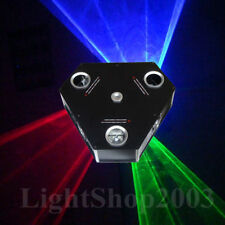 750mW Green+Red+Blue RGB Beam Show + Twinkling Laser Light System DMX Projector