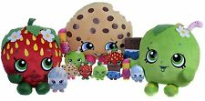 """NEW OFFICIAL 8"""" SHOPKINS SOFT TOY SHOPKIN PLUSH TOY KISS STRAWBERRY KOOKY COOKIE"""