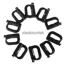 10 D-ring Tactical Outdoor Backpack Molle Locking Webbing Strap Buckle Carabiner