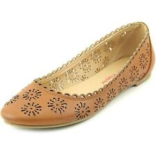 Pink & Pepper Maizy   Round Toe Synthetic  Flats
