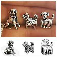 $30 value 3 PC Puppy Dogs charm,Love My dogs charm for European charm bracelet