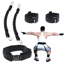 5Pcs Exercise Sport Fitness Muscle Vertical Jump Resistance Bands Trainers Set