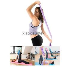 1.5m Yoga Pilates Rubber Stretch Resistance Exercise Gym Training Fitness Bands