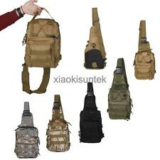 Tactical Shoulder Backpack Molle Army Military Outdoor Camping Bag Assault Pack