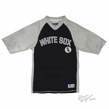 NWT Chicago White Sox Major League Baseball Men V-Neck Raglan Jersey MLB S/L