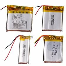 3.7V  Polymer Battery 500mAh-1600mAh with PCM Perfect Rechargeable