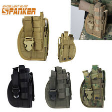 Airsoft Tactical Utility Molle Pistol Right Hand Hunting Belt Pouch Holster Bag