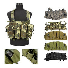Military Tactical SWAT MOLLE Police Combat Assault Vest Hunting Waistcoat Jacket