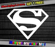SuperHero Superman Logo DC Marvel Funny Vinyl Sticker Decal Graphic Car Wall
