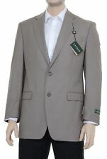 Ralph Lauren Classic Fit Tan Textured Two Button Blazer Sportcoat