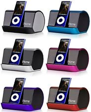 Portable MP3 & iPod Player Stereo Speaker System iHome iHM10