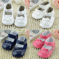 Baby Girl Shoes Infant Toddler Girls Shoes Prewalker PU Leather Shoes 0-18months