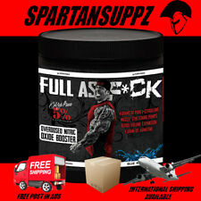 Rich Piana 5% Nutrition Full As F*ck Pump Pre Workout 30 Serves Agmatine