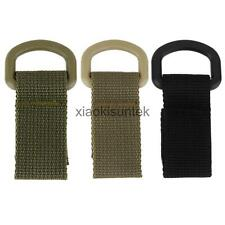 2pc Tactical Molle Webbing Buckle Strap Hanging Water Bottle Belt Carabiner Hook