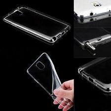 Soft TPU Case Back Cover For Samsung Galaxy Ultra-thin Transparent Clear FT
