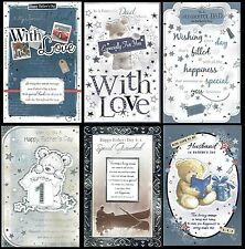 Large Father's Day Card, With 8-page Insert,  Choice of title and Design