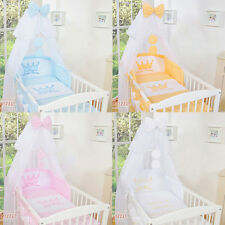 5 pcs Piece Baby Bedding Set To Fit Cot or Cot Bed Little Prince Toddler Bed New