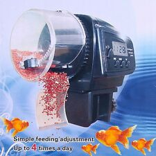 Automatic Fish Tank Food Feeder Auto Adjustable LCD Aquarium Food Feeding Timer