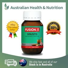 NEW! FUSION HEALTH - SINUSITIS - RELIEVE SINUS PAIN & CONGESTION + FREE SAMPLE